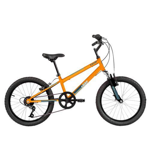 Bicicleta ARO 20 - Snap - Laranja - Caloi