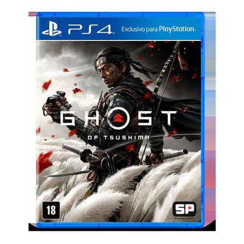 Jogo PS4 - Ghost Of Tsushima - Sony