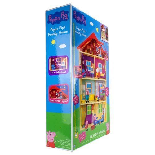 Playset e Mini Figura - Casa Gigante - Peppa Pig - Sunny