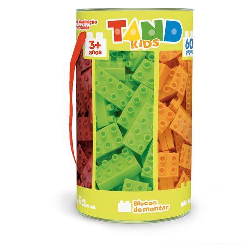 Blocos De Encaixe - Tand Kids - 60 peças - Toyster