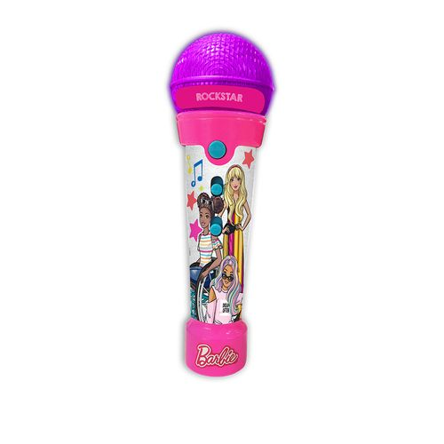 Brinquedo Musical - Microfone - Barbie - Rockstar - Fun