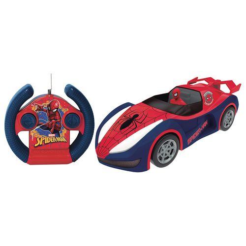 Carrinho De Controle Remoto - Overdrive - Disney - Marvel - Spider-Man - Candide