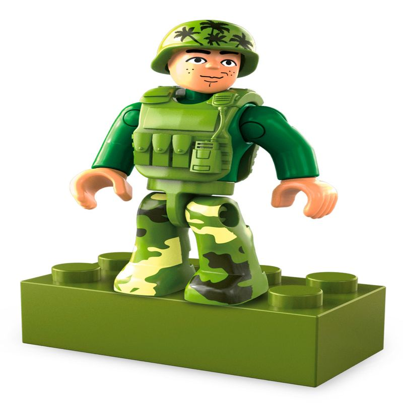 Blocos-de-Encaixe---Mega-Construx---Wonder-Builders---Helicoptero-Militar---Mattel-2