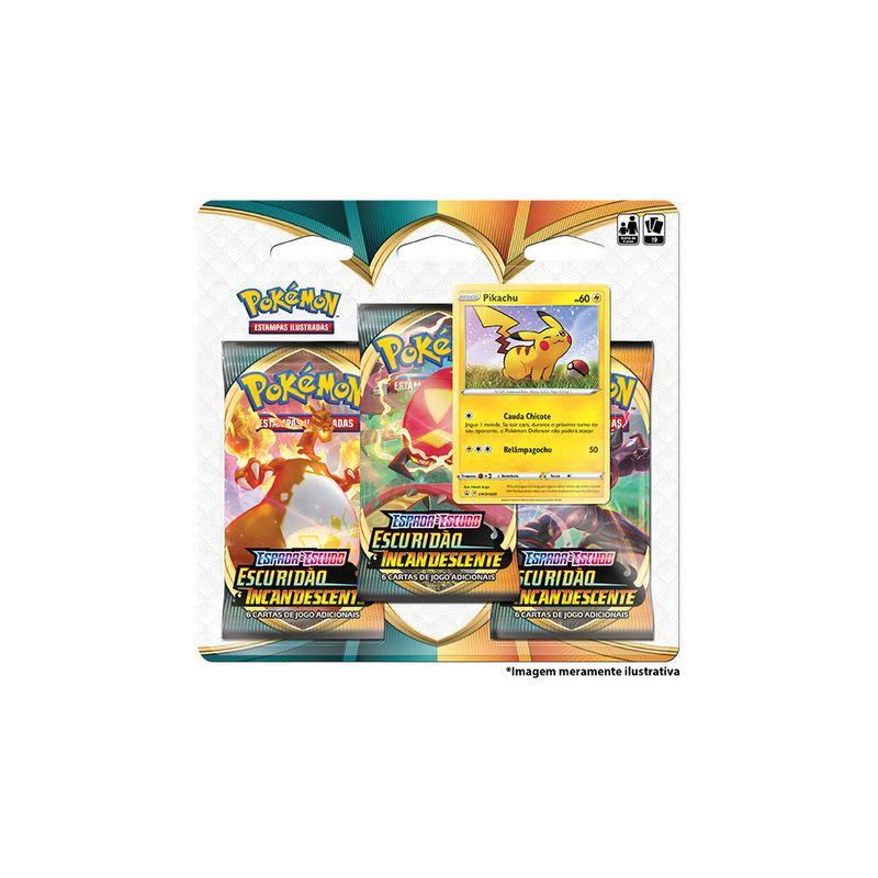 Deck-Pokemon---Blister-Triplo---Escuridao-Incandescente---Pikachu---Copag-0