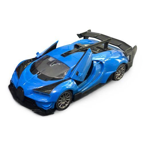 Veículo De Controle Remoto - Polimotors 1.8 - 8 Funções - Azul - Polibrinq