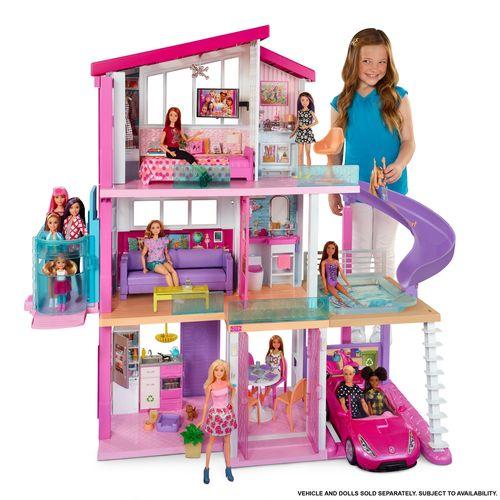 Playset Barbie - 125Cm - Casa dos Sonhos Com Elevador - Mattel