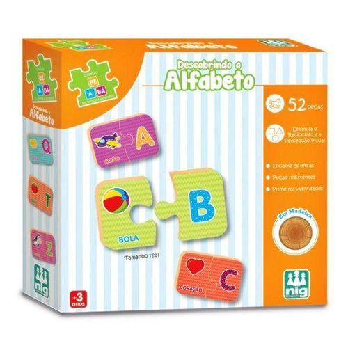 Jogo Educativo Descobrindo o Alfabeto NIG Brinquedos 0421