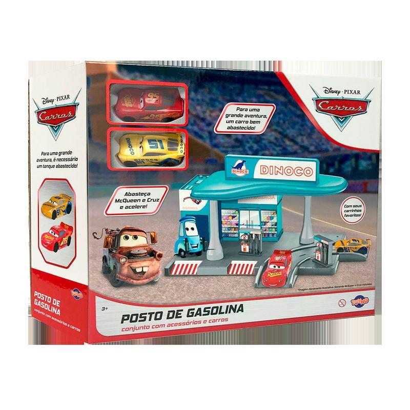 Playset---Posto-de-Gasolina---McQueen-e-Cruz---Disney---Toyng-1