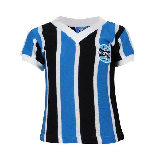 Camisa Infantil Grêmio Retrô Libertadores 1983 Gola V Nº 7
