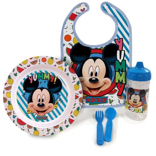Kit Alimentação Mickey Babygo