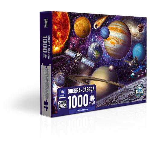 Quebra-Cabeça - 1000 Peças - Viagem Cósmica - Toyster