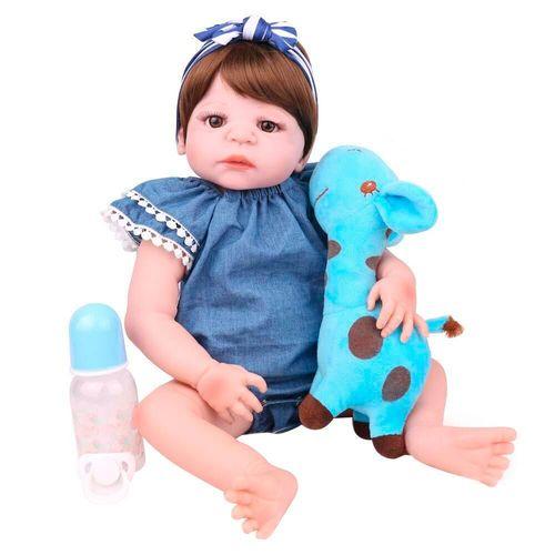 Boneca Bebe Reborn Laura Baby Andressa
