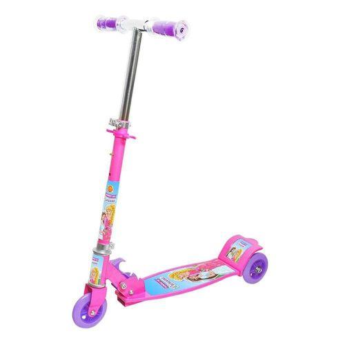 Patinete Infantil 3 Rodas Sonho de Princesa - Dm Toys 5667