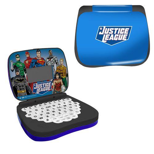 Laptop De Atividades - Bilíngue - DC Comics - Liga da Justiça - Candide