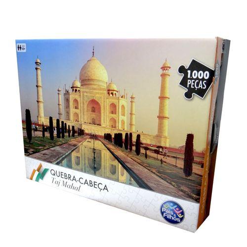 Quebra Cabeça - 1000 Peças - Taj Mahal - Pais E Filhos