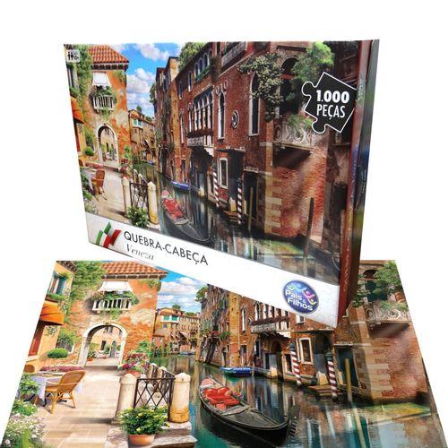 Quebra-Cabeça - 1000 Peças - Veneza - Pais E Filhos