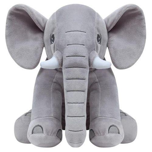 Pelúcia Elefante - Cinza - Buba
