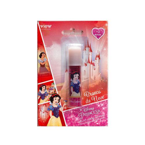 Maquiagem Infantil - Brilho Labial - Disney Princesas - Branca De Neve - View Cosméticos