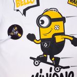 Camisa-Manga-Curta---Estampa-Minions-SK8---100--Algodao---Branco----Minions---1