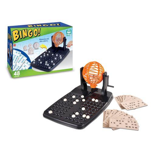 Jogo Bingo com 48 cartelas - Nig
