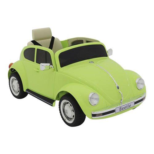 Carro Elétrico de Controle Remoto Belfix Beetle Verde 12V