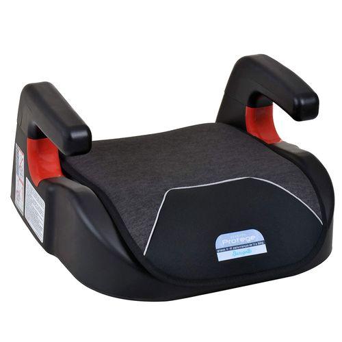 Assento para Auto - Booster - Protege - Mescla Preto - Burigotto