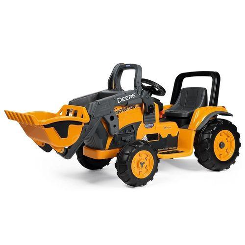Mini Escavadeira John Deere Construction Loader Peg-Perego 12V