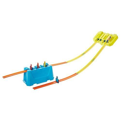 Pista Hot Wheels - Kit Completo Stunt Box - Caixa de Velocidade de Pistas Múltiplas - Mattel