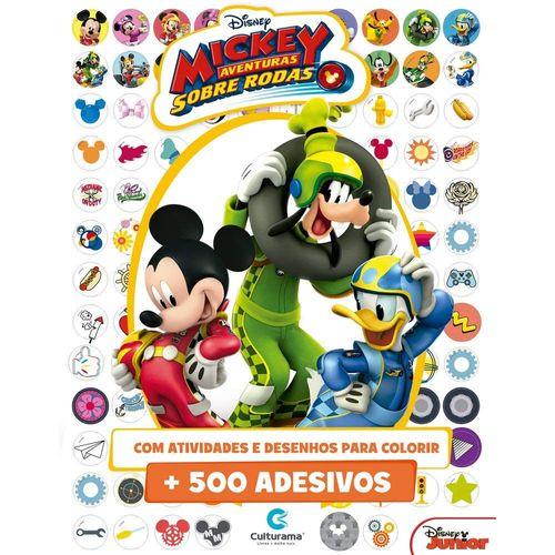 Livro de Adesivos - Disney - Mickey Mouse - 500 Adesivos - Culturama