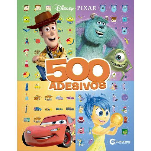 Livro de Adesivos - Disney - Pixar - 500 Adesivos - Culturama
