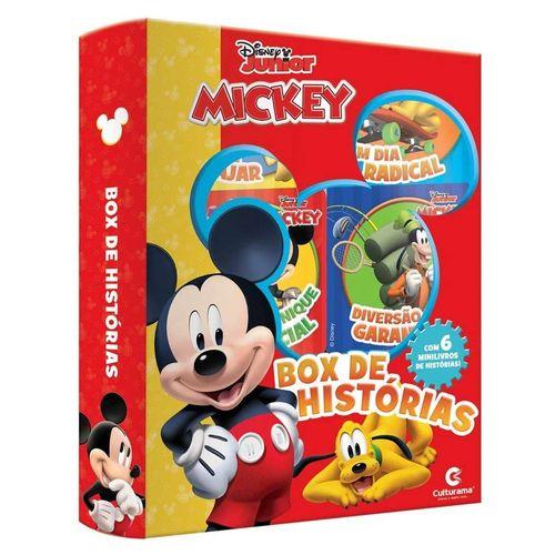 Livro Infantil - Box de Histórias - Disney - Mickey Mouse - Culturama