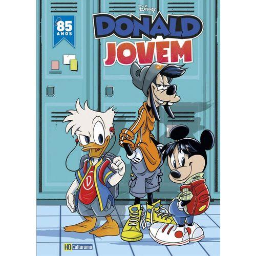 Livro Infantil - Disney - Donald Jovem - Histórias em Quadrinhos - Culturama