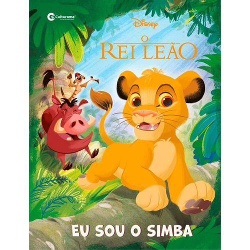 Livro Infantil - Disney - O Rei Leão - Eu Sou o Simba - Culturama