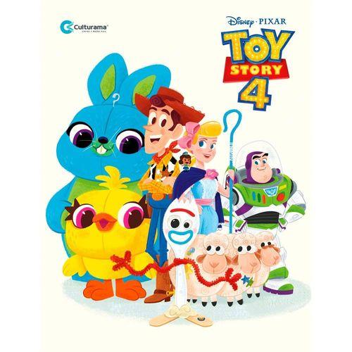 Livro Infantil - Disney - Pixar - Toy Story 4 - Livro de Histórias - Culturama