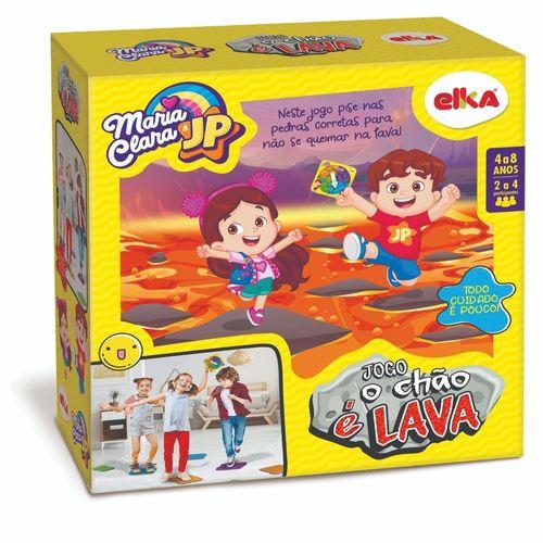 Jogo - O Chão é Lava - Maria CLara e JP - Elka