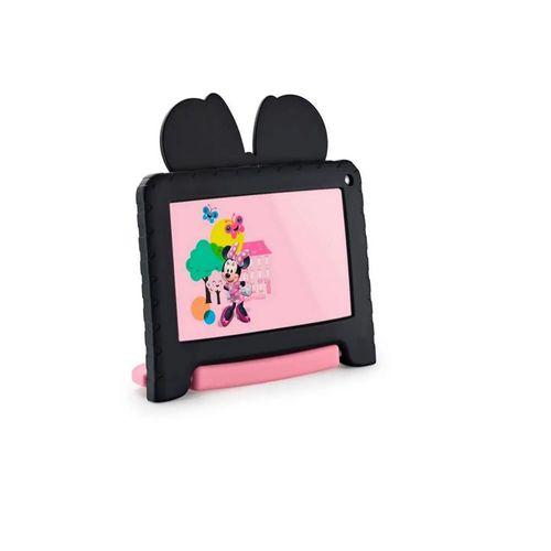 Tablet Multilaser NB340 Minnie Mouse WiFi Tela 7 Pol. 16GB 1GB Ram Quad Core Preto