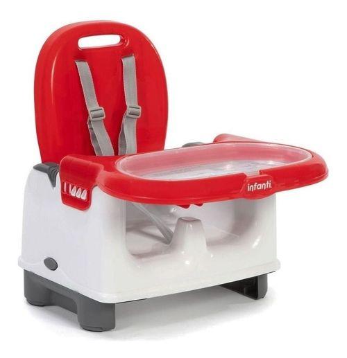 Cadeira de Refeição Infanti Mila Vermelha