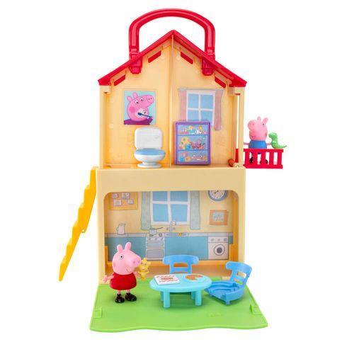 Playset e Mini Figuras - Casa Popn' Play - Peppa Pig - Sunny