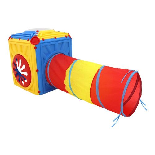 Brinquedo Cubo Túnel Infantil BelFix Bel Brink