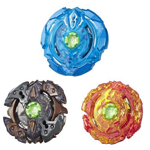 Conjunto de Piões De Batalha - Beyblade - Element Multi Pack - Hasbro