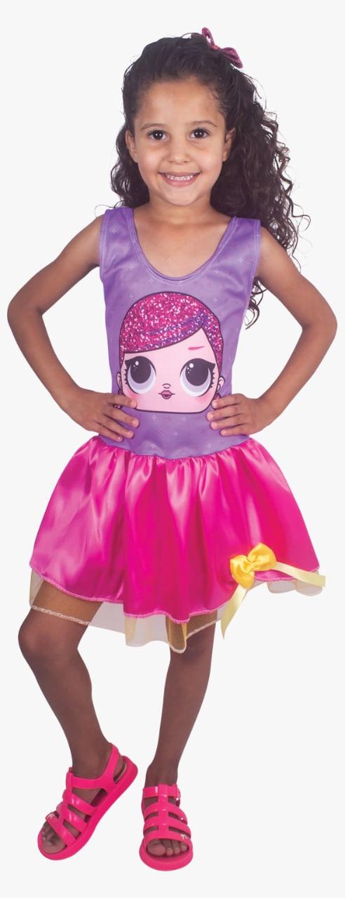 Fantasia Infantil tam.G - Vestido DOLL JUJU 2457 Brink Model