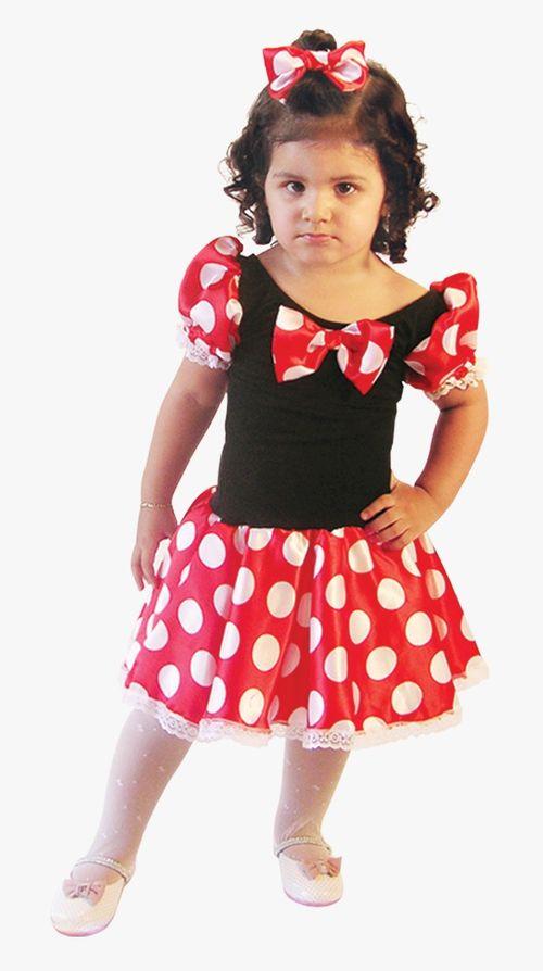 Fantasia Infantil M Vest. Curto RATINHA Clássica 01 BrinkModel