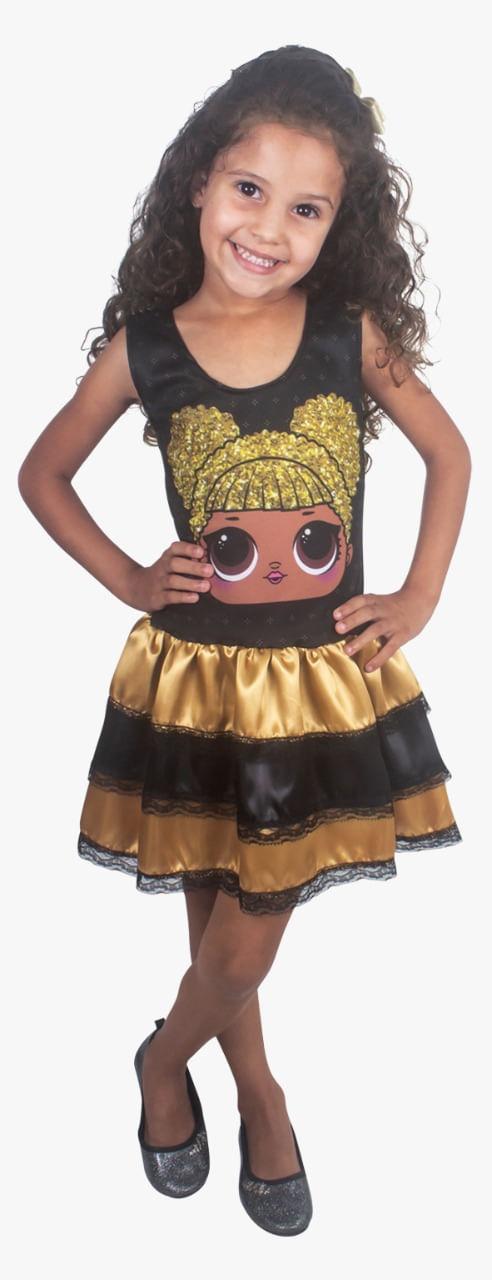 Fantasia Infantil Vestido G DOLL LORY 2465 Brink Model