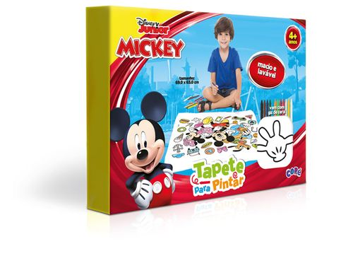 Tapete para Pintar - Mickey Mouse - Toyster