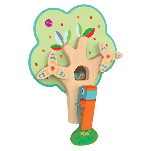 Brinquedo de Parede Autoadesivo - Passarinho na Árvore - Oribel