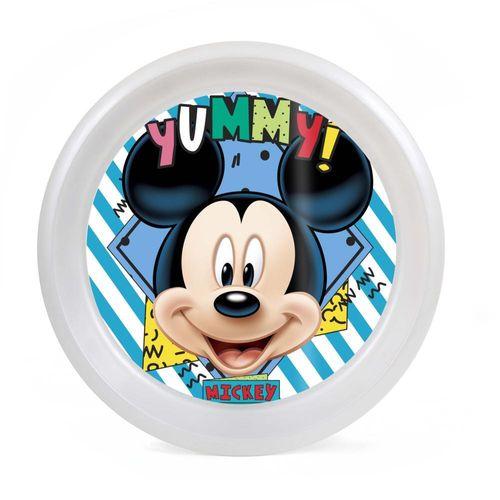 Prato Raso - 24Cm - Disney - Mickey - BabyGo