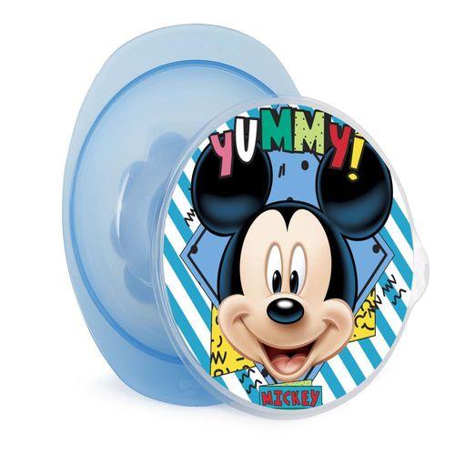 Prato Fundo Com Ventosa - Disney - Mickey - BabyGo