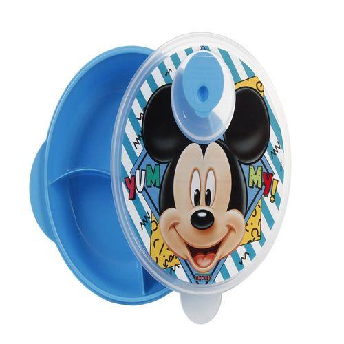Prato Com Divisões - Disney - Mickey - BabyGo