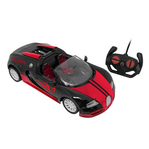 Veículo De Controle Remoto - Outbreak - Hot Wheels - Vermelho - Candide