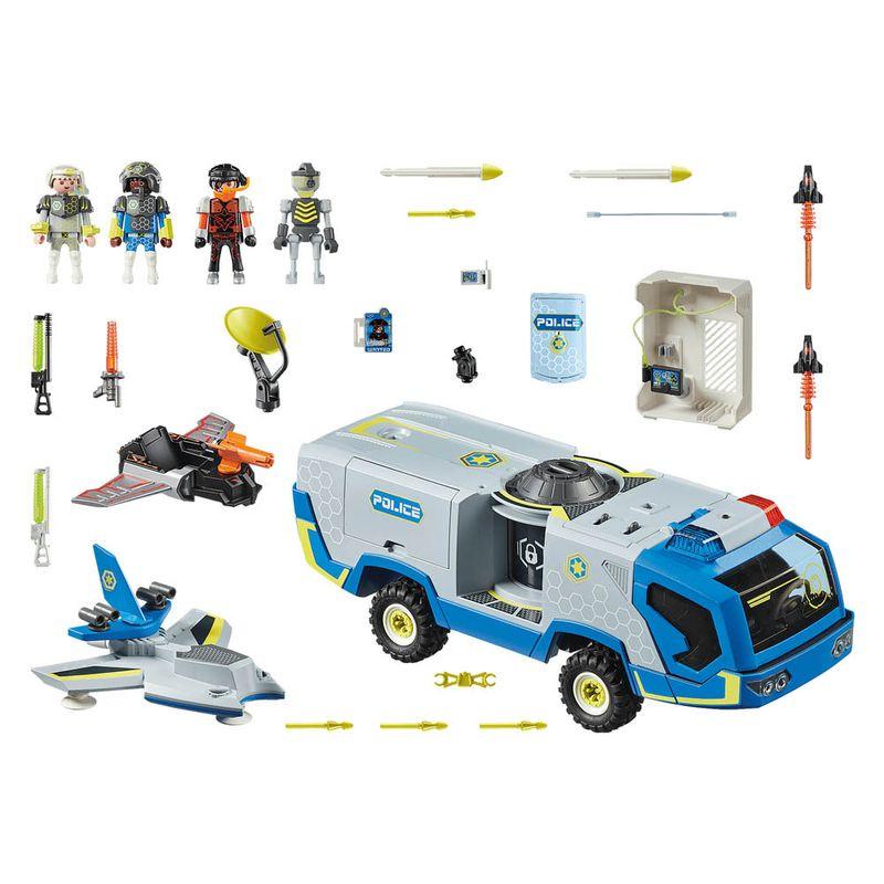 Policia-galactica-com-caminhao---Playmobil-policia-galatica---Sunny-brinquedos---2462-2